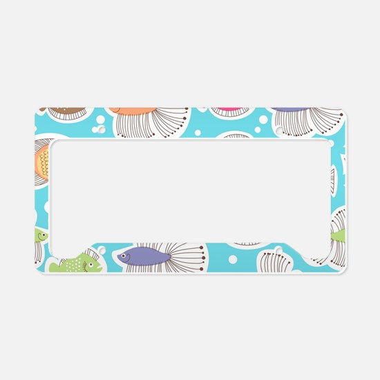 Cute Fish License Plate Holder
