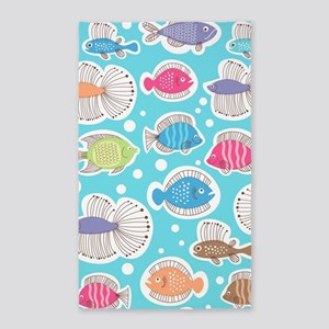 Cute Fish Area Rug