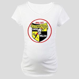 USS Montrose (APA 212) Maternity T-Shirt