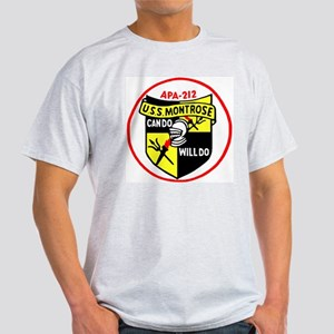 USS Montrose (APA 212) Light T-Shirt