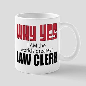 Law Clerk Mugs