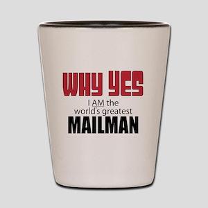 Mailman Shot Glass