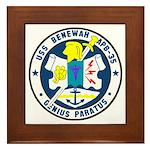 USS Benewah (APB 35) Framed Tile