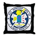 USS Benewah (APB 35) Throw Pillow