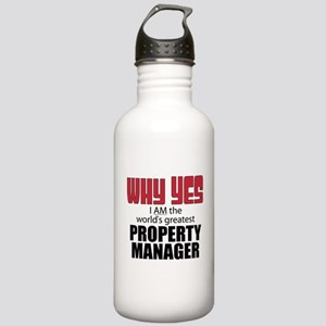 Property Manager Stainless Water Bottle 1.0L