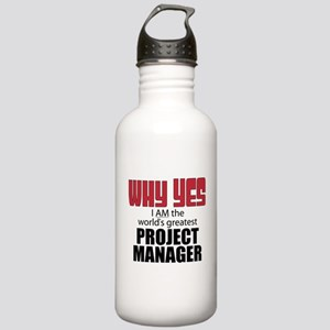 Project Manager Stainless Water Bottle 1.0L