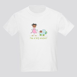 I'm a big sister Kid's t-shirt: baby brother