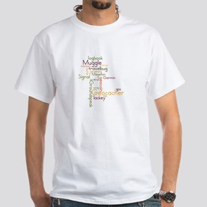 Geocache White T-Shirt