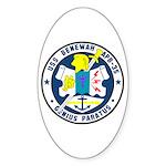 USS Benewah (APB 35) Oval Sticker
