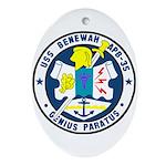 USS Benewah (APB 35) Oval Ornament