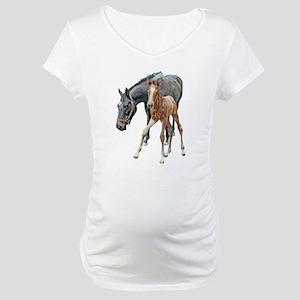 Mare & Foal Maternity T-Shirt