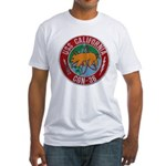 USS CALIFORNIA Fitted T-Shirt