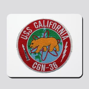USS CALIFORNIA Mousepad