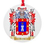 Reyes Round Ornament