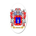 Reyes 20x12 Oval Wall Decal