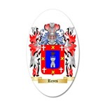 Reyes 35x21 Oval Wall Decal