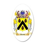 Reyes (Spain) 20x12 Oval Wall Decal
