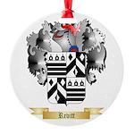 Revitt Round Ornament