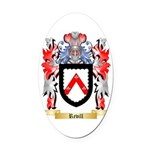 Revill Oval Car Magnet