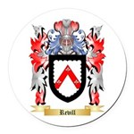 Revill Round Car Magnet