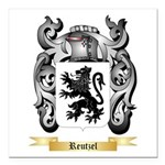 Reutzel Square Car Magnet 3
