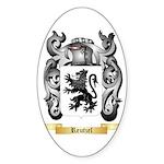 Reutzel Sticker (Oval 10 pk)