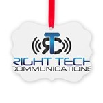 Right Tech Main Logo Picture Ornament