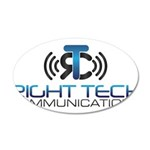 Right Tech Main Logo Decal Wall Sticker