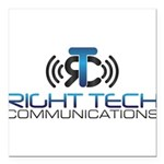 Right Tech Main Logo Square Car Magnet 3