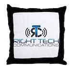 Right Tech Main Logo Throw Pillow