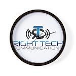 Right Tech Main Logo Wall Clock