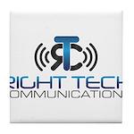 Right Tech Main Logo Tile Coaster