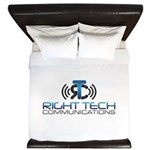 Right Tech Main Logo King Duvet