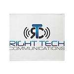 Right Tech Main Logo Throw Blanket
