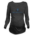 Right Tech Main Logo Long Sleeve Maternity T-Shirt