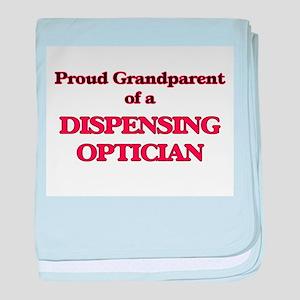Proud Grandparent of a Dispensing Opt baby blanket