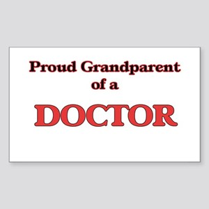 Proud Grandparent of a Doctor Sticker