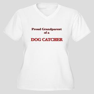 Proud Grandparent of a Dog Catch Plus Size T-Shirt