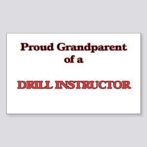 Proud Grandparent of a Drill Instructor Sticker