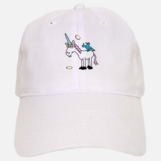 Hoops the Unicorn Baseball Baseball Cap