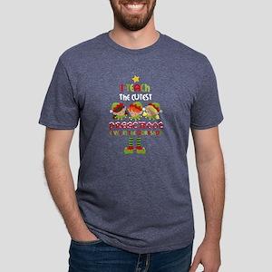 Elves Preschool Teacher Mens Tri-blend T-Shirt