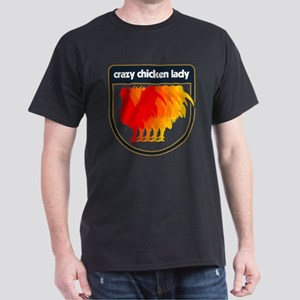 Crazy Chicken Lady Dark T-Shirt