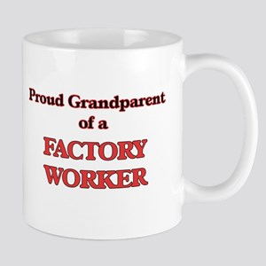 Proud Grandparent of a Factory Worker Mugs