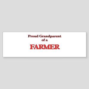 Proud Grandparent of a Farmer Bumper Sticker