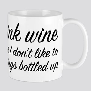 I Drink Wine Mug