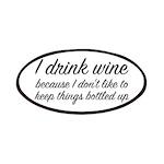 I Drink Wine Patch