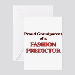 Proud Grandparent of a Fashion Pred Greeting Cards