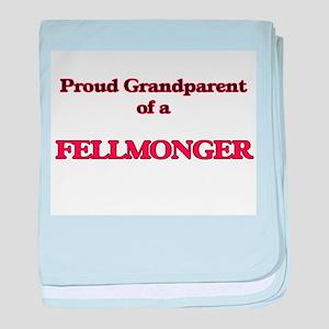 Proud Grandparent of a Fellmonger baby blanket