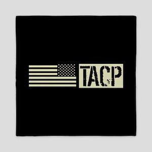 U.S. Air Force: TACP (Black Flag) Queen Duvet