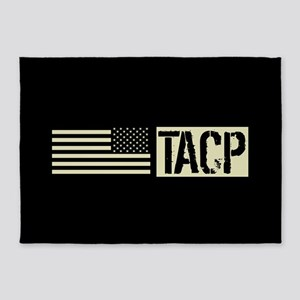 U.S. Air Force: TACP (Black Flag) 5'x7'Area Rug